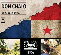 Caf� moulu pour cafeti�re hario/Chemex : Panama - Don Chalo - 250g - Caf�s Lugat