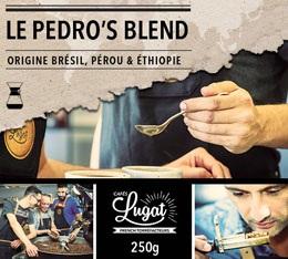 Café moulu pour cafetière Hario/Chemex : Le Pedro's Blend (Mélange Gourmand) - 250g - Cafés Lugat