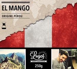 Caf� moulu Bio pour cafeti�re Hario/Chemex : P�rou - El Mango - 250g - Caf�s Lugat