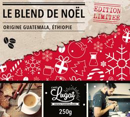 Café en grains : Le Blend de Noël (Mélange Gourmand) - 250g - Cafés Lugat