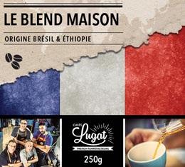 Café en grains : Le Blend Maison (Mélange Maison) - 250g - Cafés Lugat