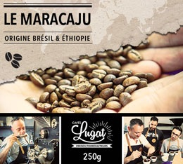 Caf� en grains : Le Maracaju (anciennement Santa Claus) - M�lange Gourmand - 250g - Caf�s Lugat
