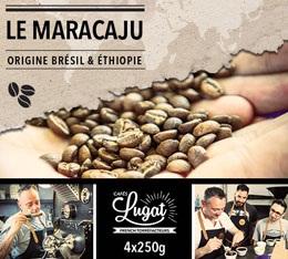 Café en grains : Le Maracaju (anciennement Santa Claus) - Mélange Gourmand - 1Kg - Cafés Lugat
