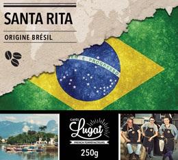 Caf� en grains : Br�sil - Santa Rita - 250g - Caf�s Lugat