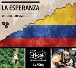 Caf� en grains bio : Colombie - La Esperanza - 1Kg - Caf�s Lugat