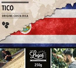 Café en grains : Costa Rica - Tico - 250g - Cafés Lugat