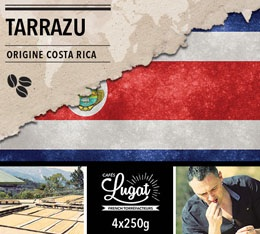 Caf� en grains : Costa Rica - Tarrazu - 1Kg - Caf�s Lugat