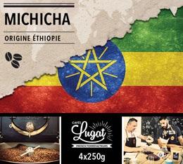 Caf� en grains : Ethiopie - Moka Michicha - 1Kg- Caf�s Lugat