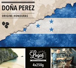 Café en grains Bio : Honduras - Doña Perez - 1Kg - Cafés Lugat