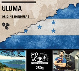 Caf� en grains Bio : Honduras - Uluma - 250g - Caf�s Lugat