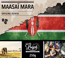 Caf� en grains : Kenya - Maasa� Mara - Torr�faction Filtre - 250g - Caf�s Lugat