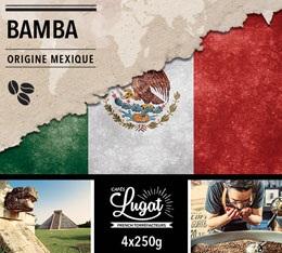 Caf� en grains : Mexique - Bamba - 1Kg - Caf�s Lugat