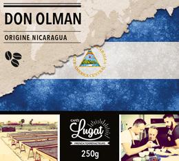 Café en grains : Nicaragua - Don Olman - 250g - Cafés Lugat