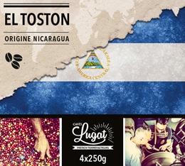 Café en grains : Nicaragua - El Toston - 1Kg - Cafés Lugat
