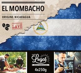 Café en grains : Nicaragua - El Mombacho Lavé - 1Kg - Cafés Lugat