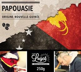 Café en grains : Nouvelle-Guinée - Papouasie - 250g - Cafés Lugat