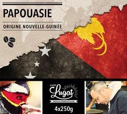 Café en grains : Nouvelle-Guinée - Papouasie - 1Kg - Cafés Lugat