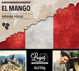 Caf� en grains Bio : P�rou - El Mango - 1Kg - Caf�s Lugat