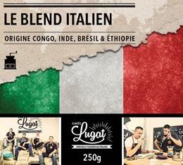Caf� moulu : Le Blend Italien (M�lange Italien) - 250g - Caf�s Lugat
