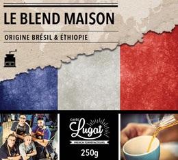 Caf� moulu : Le Blend Maison (M�lange Maison) - 250g - Caf�s Lugat