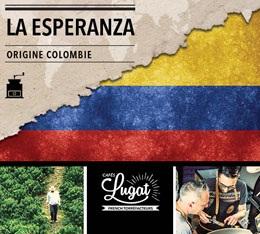 Caf� moulu bio : Colombie - La Esperanza - 250g - Caf�s Lugat