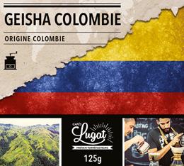 Café moulu : Colombie - Geisha - 125g - Cafés Lugat