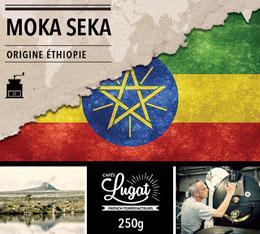 Café moulu : Ethiopie - Moka Seka - 250g - Cafés Lugat