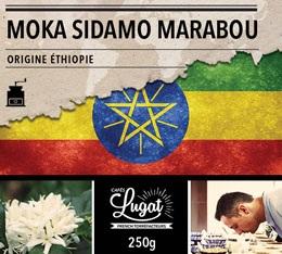 Caf� moulu : Ethiopie - Moka Sidamo Marabou - 250g - Caf�s Lugat