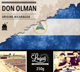 Caf� en moulu : Nicaragua - Don Olman - 250g - Caf�s Lugat