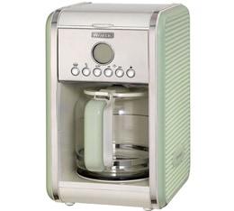 Cafeti�re filtre Ariete Vintage Verte programmable + offre cadeaux