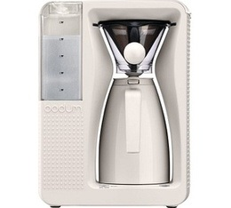 Cafeti�re filtre isotherme Bodum Bistro B-Over Blanche
