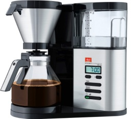 Cafeti�re filtre Melitta Aroma Elegance Deluxe 1012-03 + offre cadeaux