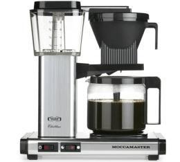 Cafeti�re filtre Moccamaster KBG741 Aluminium 1.25L Pack Pro