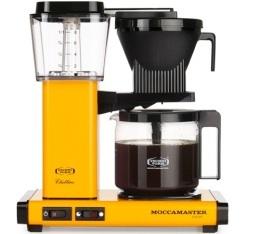 Cafeti�re filtre Moccamaster KBG741 Jaune 1.25L + offre cadeaux