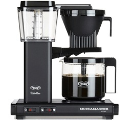 Cafeti�re filtre Moccamaster KBG741 Noir mat 1.25L + offre cadeaux