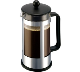 Cafeti�re � Piston Bodum Kenya 1L inox