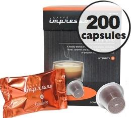 Intenso x200 Caff� Impresso compatible Nespresso