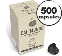 Capsules Ebène x500 CapMundo pour Nespresso