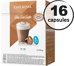 Capsules Dolce Gusto� compatibles Caf� Royal Chai Tea Latte x 16