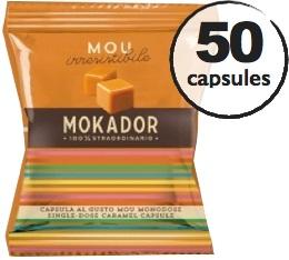 Capsule MyCaffe Caramel x50 (capsules FAP) - Mokador Castellari