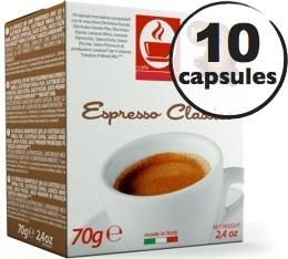 Capsule Lavazza a Modo Mio® compatible Classico x10