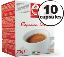 Capsule Lavazza a Modo Mio� compatible Intenso x10