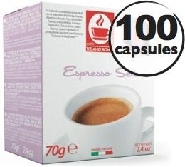 Capsule Lavazza a Modo Mio� Seta compatible 100% arabica  x100