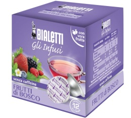Capsules Mokespresso Bialetti Infusion Fruit des Bois x 12