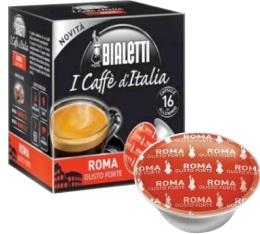 Capsules Mokespresso Bialetti 'Roma' Arabica/Robusta x16