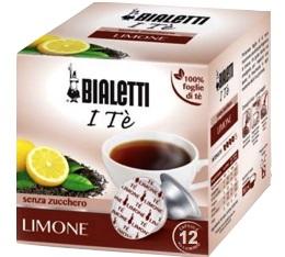 Capsules Mokespresso Bialetti Thé Citron x 12