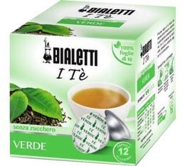 Capsules Mokespresso Bialetti Thé Vert x 12