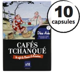 Capsules D�ca Ar�s Caf�s Tchanqu� x10 pour Nespresso