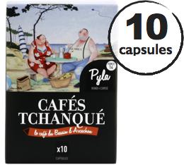 Capsules Pyla Caf�s Tchanqu� x10 pour Nespresso