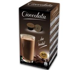 30 x Capsules Cioccolata pour machines Espresso Cap